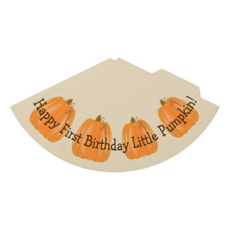 Little Pumpkin First Birthday Hat