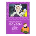 Little Pumpkin Halloween 5x7 Photo Birthday Invitations