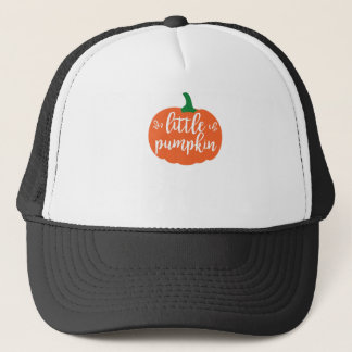 Little Pumpkin Halloween Tshirt Trucker Hat
