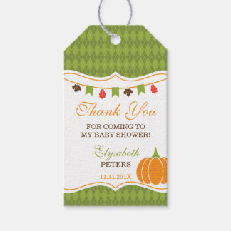Little Pumpkin Thank You Tag, Favor, Autumn Gift Tags