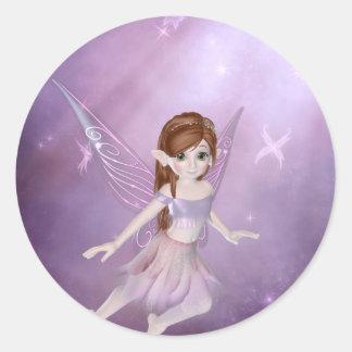 Little Purple Fairy Stickers