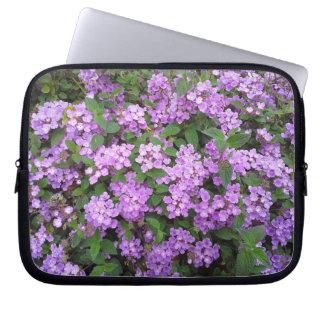 Little Purple Flowers Laptop Sleeve
