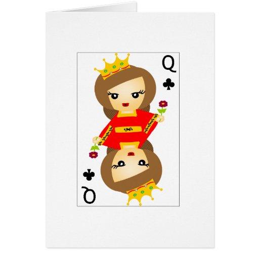 Little Queens I Card