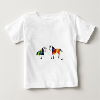 Little Rainbow Ponies Baby T-Shirt