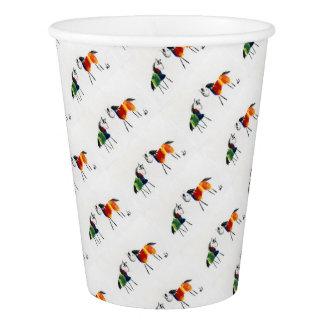 Little Rainbow Ponies Paper Cup