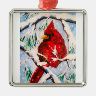 Little Red Cardinal Ornament