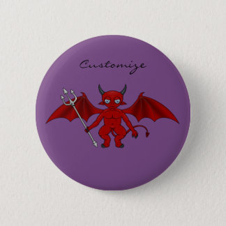 Little Red Devil Thunder_Cove 6 Cm Round Badge