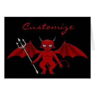 Little Red Devil Thunder_Cove Card