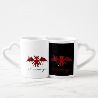 Little Red Devil Thunder_Cove Coffee Mug Set