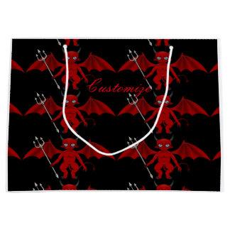 Little Red Devil Thunder_Cove Large Gift Bag