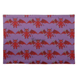 Little Red Devil Thunder_Cove Placemat