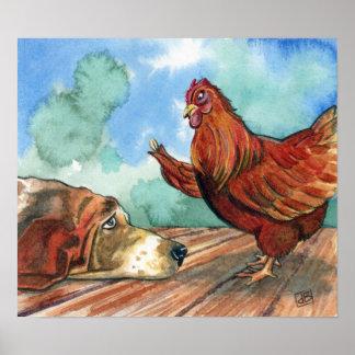 Little Red Hen Poster