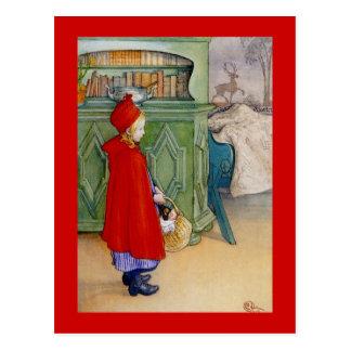 Little Red Riding Hood 1913 Postcard