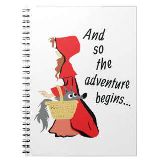 Little Red Riding Hood and Her Wolf Pup Notebooks