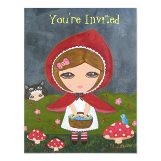 Little Red Riding Hood- Bedtime Story Party Card