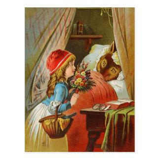 Little Red Riding Hood by Carl Offterdinger Postcard
