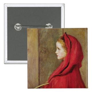 Little Red Riding Hood by John Everett Millais Buttons