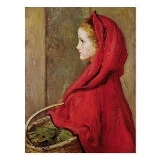 Little Red Riding Hood by John Everett Millais Postcard