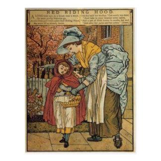 Little Red Riding Hood by Walter Crane 1845 ~ 1915 Postcard