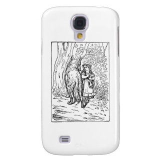 Little Red Riding Hood Galaxy S4 Case