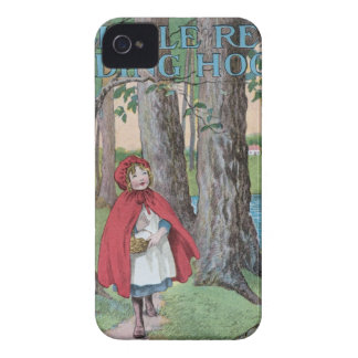 Little red riding hood classic book cover print