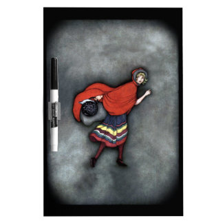 Little Red Riding Hood ~Fairy Tale~Jennie Harbour~ Dry Erase Board