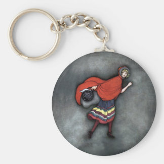 Little Red Riding Hood ~Fairy Tale~Jennie Harbour~ Key Ring