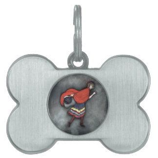 Little Red Riding Hood ~Fairy Tale~Jennie Harbour~ Pet Tag