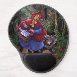 Little Red Riding Hood Gel Mouse Pad