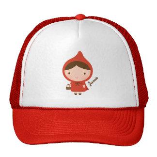Little Red Riding Hood Girl Mesh Hats