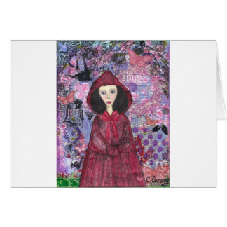 Little Red Riding Hood in the Woods 001.jpg Card