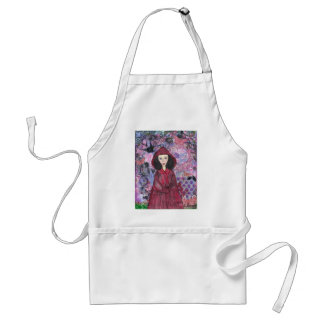 Little Red Riding Hood in the Woods 001.jpg Standard Apron