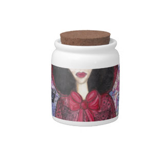 Little Red Riding Hood in the Woods 001.jpg Candy Dish