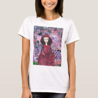 Little Red Riding Hood in the Woods 001.jpg T-Shirt