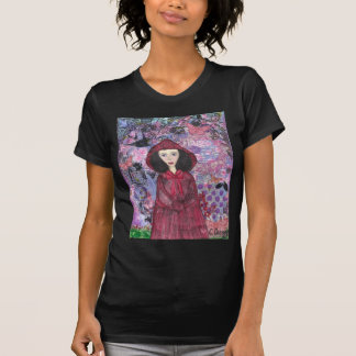 Little Red Riding Hood in the Woods 001.jpg Tees