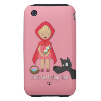 Little Red Riding Hood, iPhone 3 Case