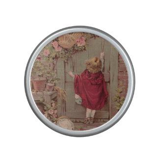 Little Red Riding Hood Knocking on Door Bluetooth Speaker