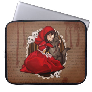 Little Red Riding Hood Laptop Sleeve