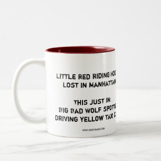 Little Red Riding Hood Lost in Manhattan - The Mug
