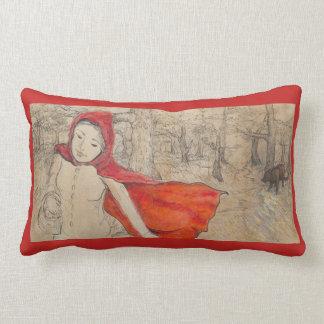 Little Red Riding Hood Lumbar Cushion