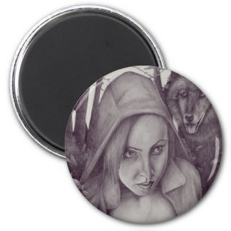 Little Red Riding Hood Refrigerator Magnets