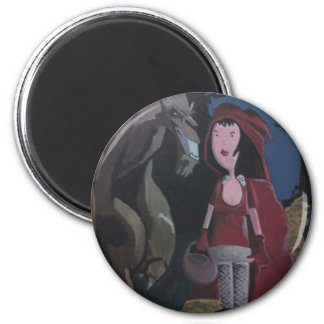 Little Red Riding Hood. Magnet