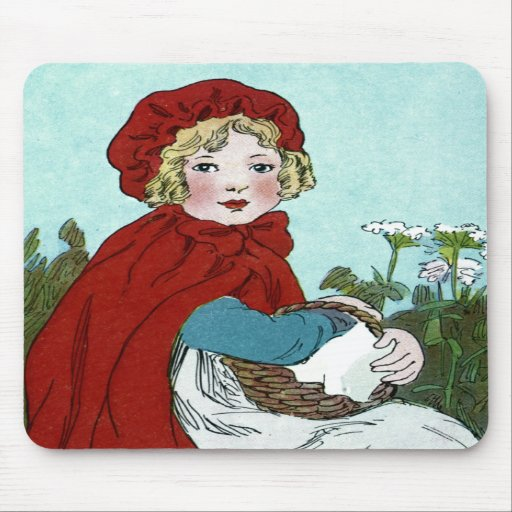Little Red Riding Hood Mouse Pads