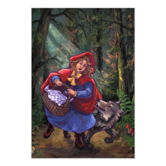 Little Red Riding Hood Photo Art