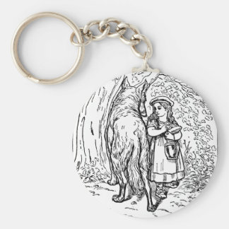 little-red-riding-hood-pictures-1 basic round button key ring