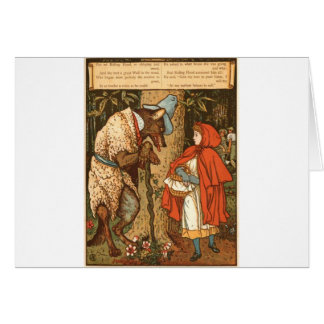 little-red-riding-hood-pictures-9 greeting card