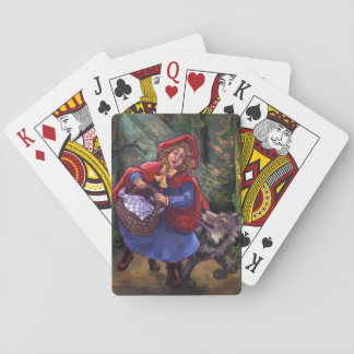 Little Red Riding Hood Playing Cards