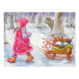 Little Red Riding Hood Post Card