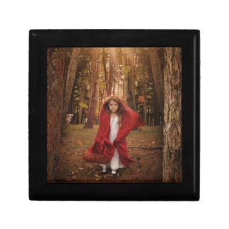 Little Red Riding Hood Small Square Gift Box