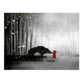 Little Red Riding Hood ~ The First Touch Postcard